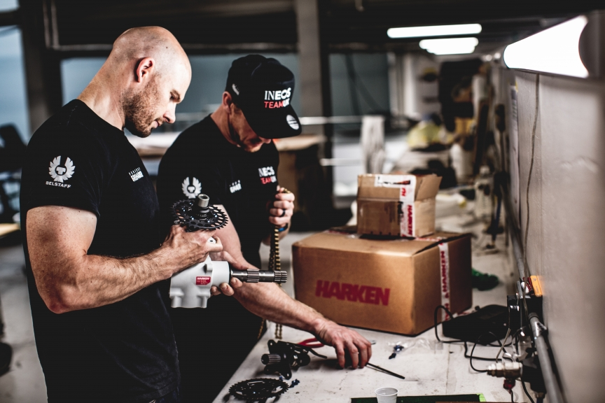 Harken signs up to the Challenge as official supplier of Winch Systems and Deck Hardware